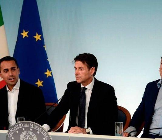 Conte Salvini Di Maio manovra