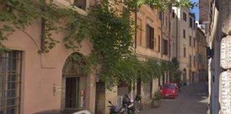 Roma Via Madonna dei Monti pietre d'inciampo