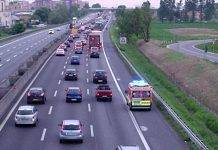 Incidente A1, lunghe code e traffico tra Parma e Campegine