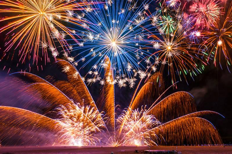 La pericolosità dei fuochi d'artificio