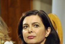 Laura Boldrini scontri Napoli