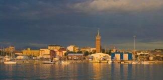 Panorama del porto di Civitanova, Marche [Autore: Sergio Fucchi]