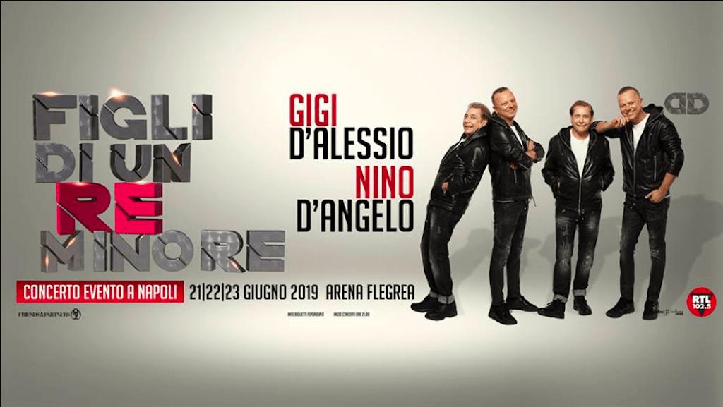Figli di un re minore: il concerto di D'Alessio e D'Angelo è stato rinviato