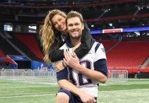 Super Bowl: Tom Brady festeggia con Giselle, ex di Leonardo DiCaprio
