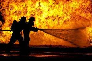 Incendio sulla A4 (Getty Images)