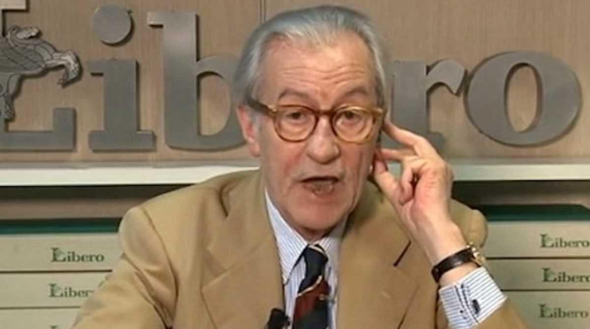 Vittorio Feltri conte foggia