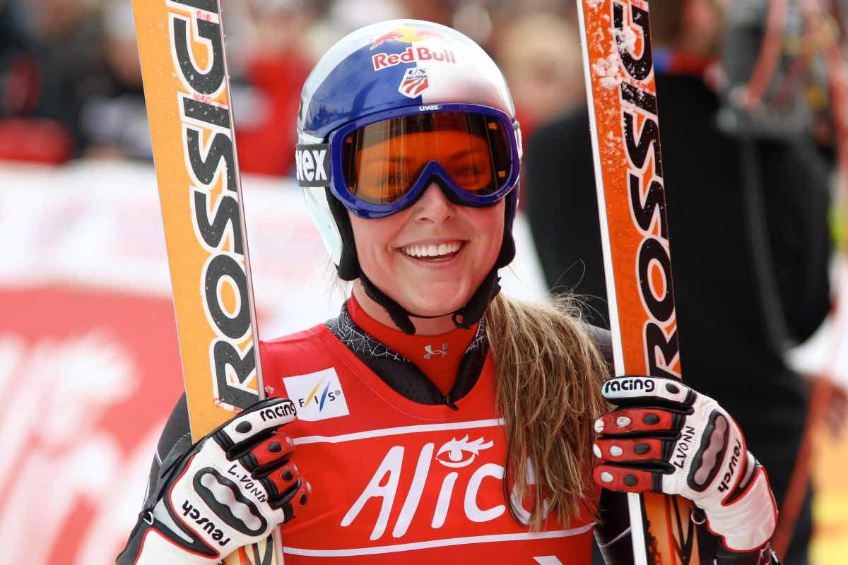 Mondiali di sci, Lindsey Vonn lascia in bellezza: terza in discesa