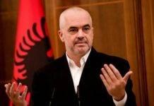 albania opposizione piazza palazzo governo