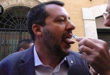 Matteo Salvini test antidroga Le Iene