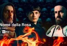 Rai 1: stasera il 1° episodio della serie 'Il nome della rosa', di Umberto Eco