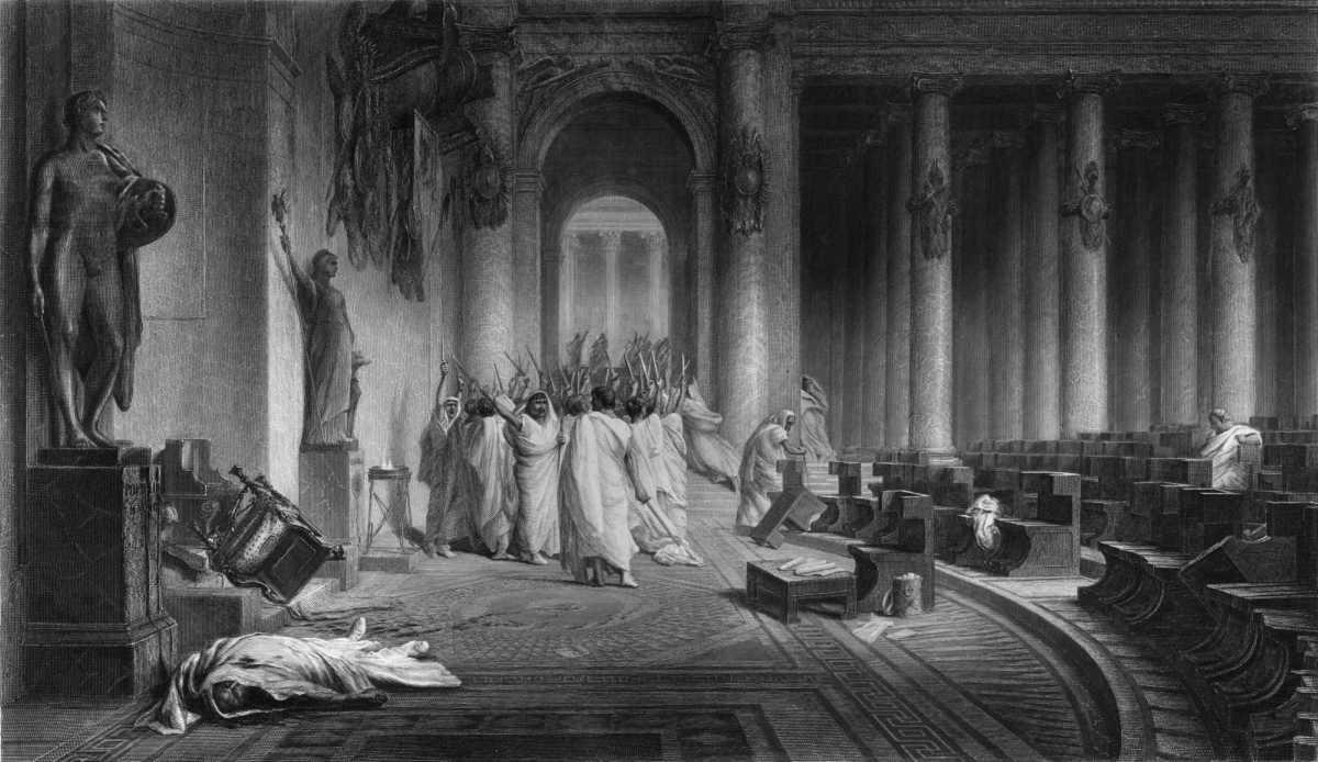 Le Idi di marzo: l'ultimo giorno di vita di Giulio Cesare