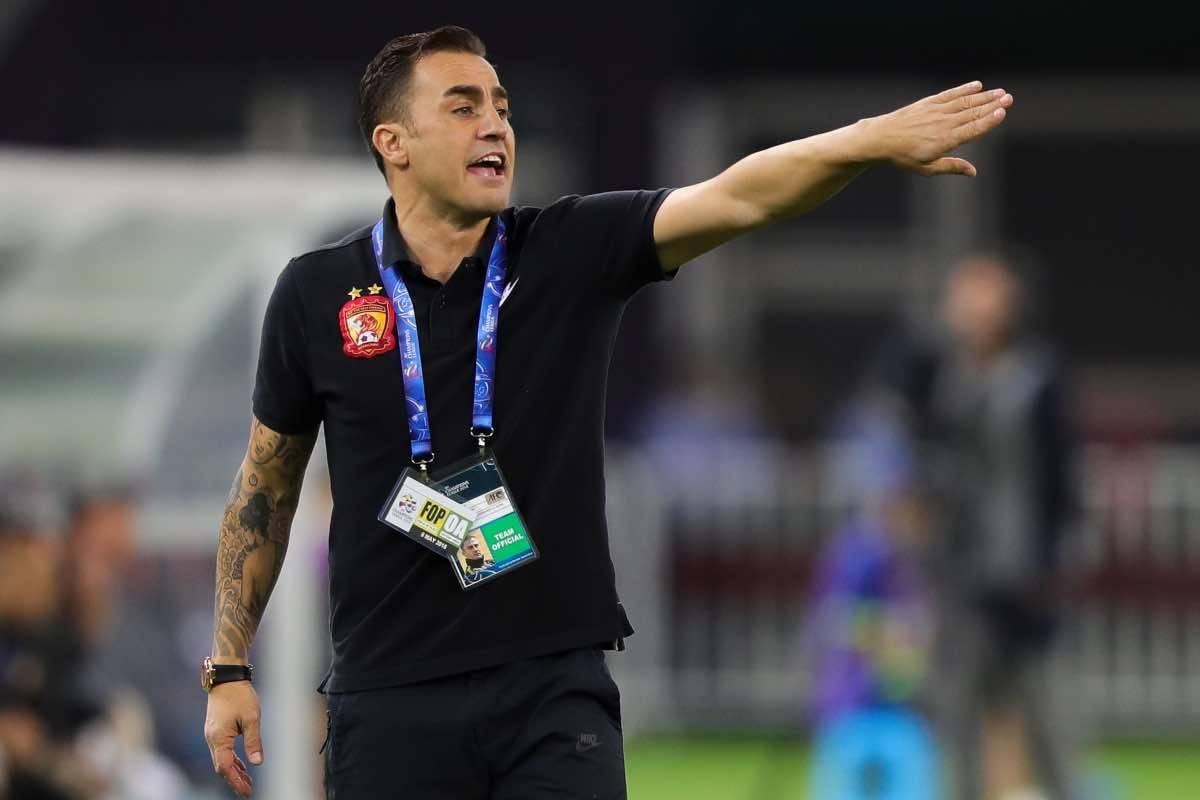 Cina, Fabio Cannavaro è il nuovo CT: sostituisce Marcello Lippi