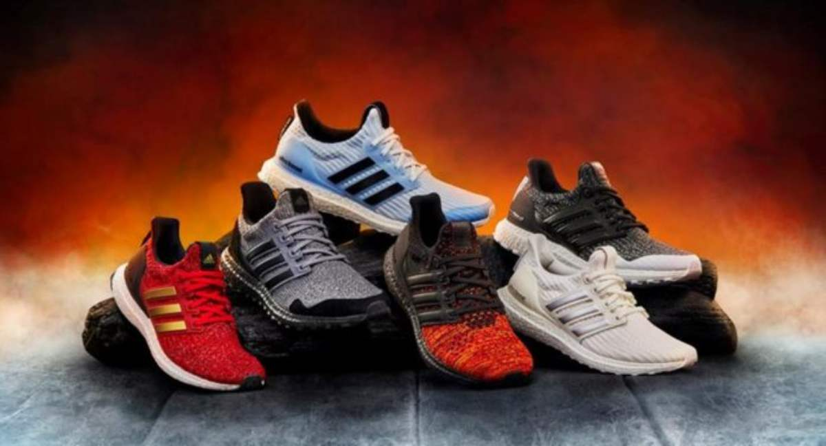 Adidas lancia nuove sneakers dedicate al Trono di Spade