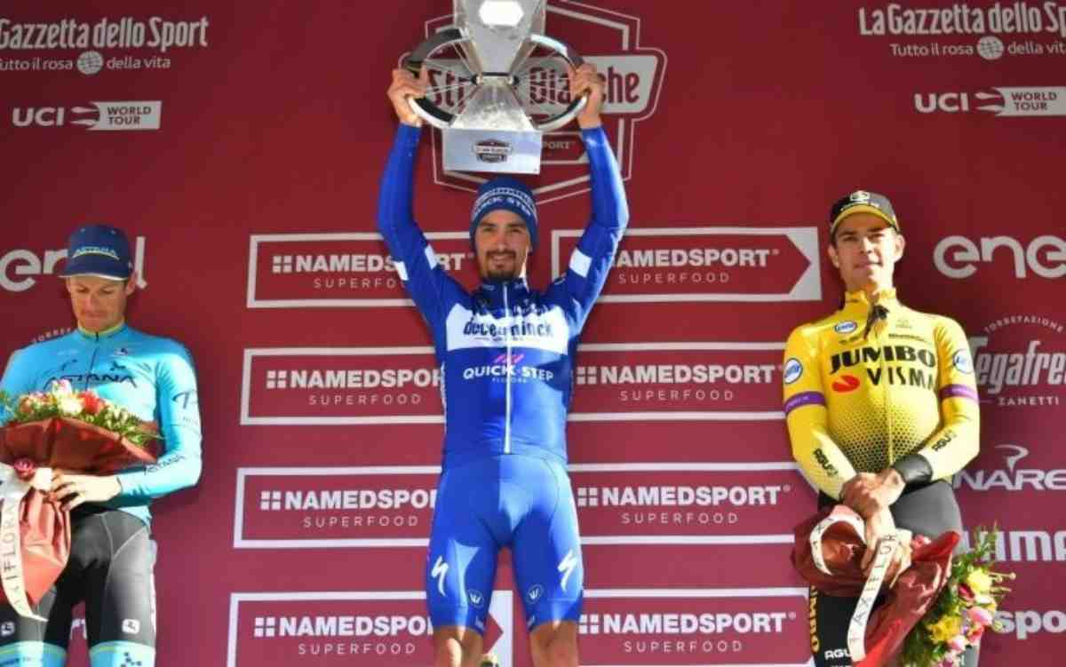 Ciclismo: Strade Bianche ad Alaphilippe