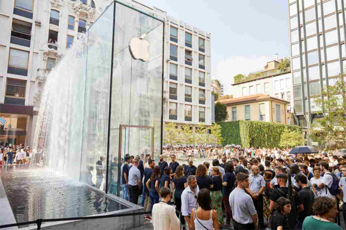 apple store piazza liberty milano mengoni