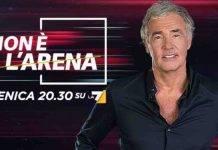 Massimo Giletti | quando inizia Non è l'Arena | nel cast Selvaggia Lucarelli