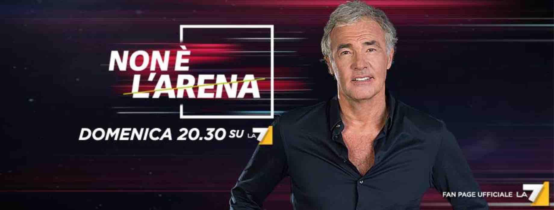 La 7, 'Non è l'arena' di Massimo Giletti stasera 14 aprile in tv: anticipazioni