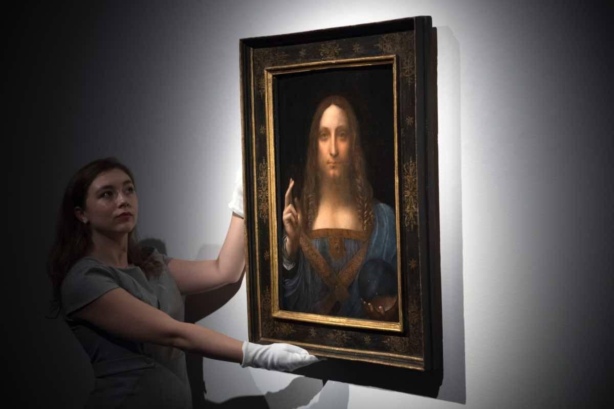 Arte-Scomparso il Salvator Mundi di Leonardo?