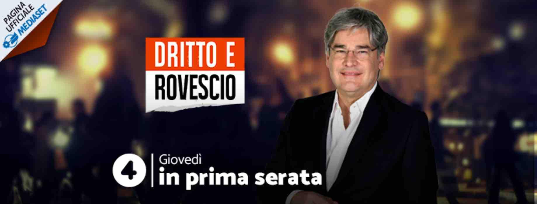 Anticipazioni | Dritto e rovescio | ospite Matteo Salvini | 12settembre