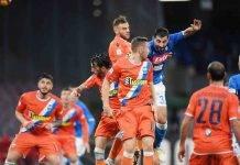 Spal - Napoli: diretta streaming: formazioni ufficiali, live risultati, azioni e gol