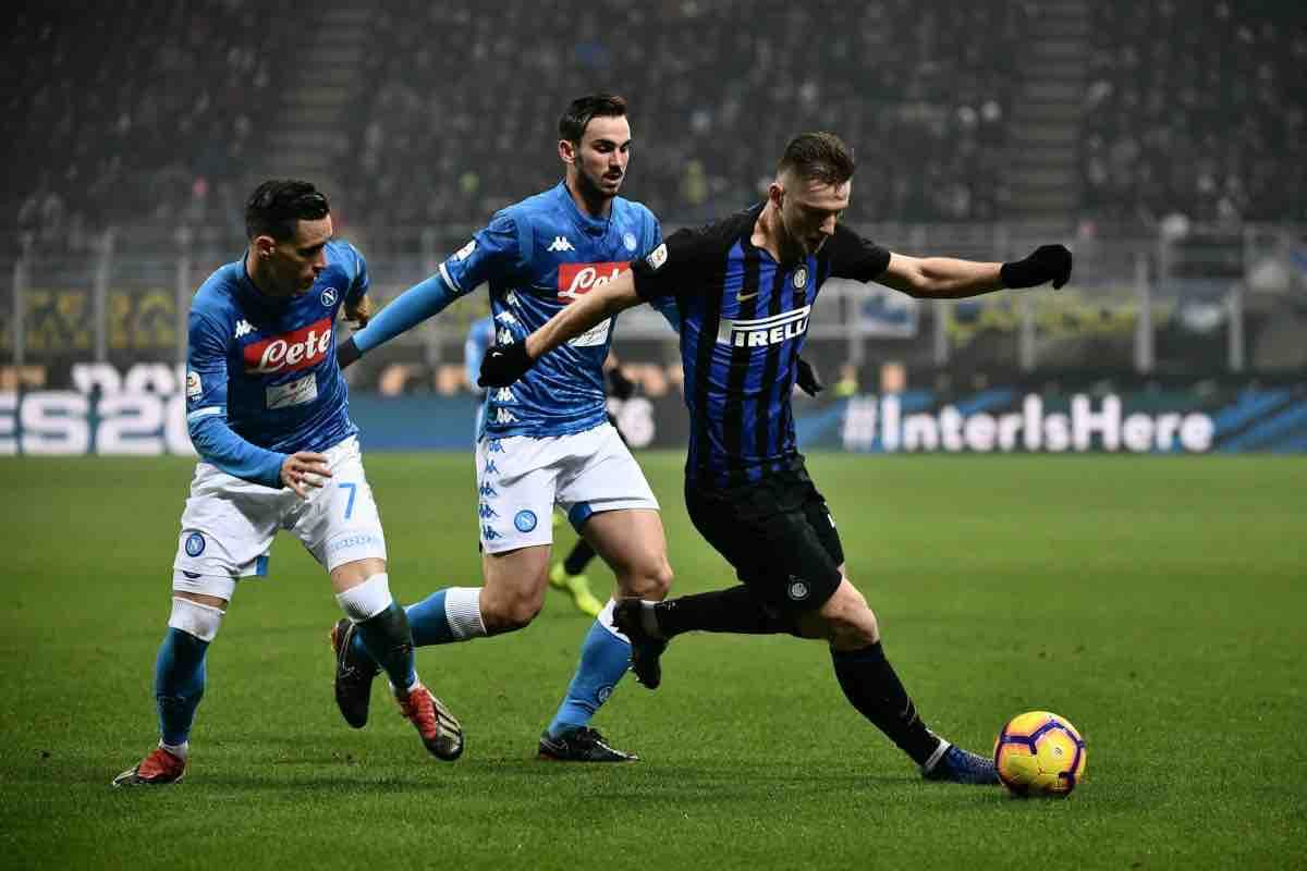 Napoli - Inter, diretta streaming: formazioni ufficiali e partita live