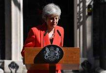 Brexit: Theresa May annuncia le sue dimissioni a partire dal 7 giugno