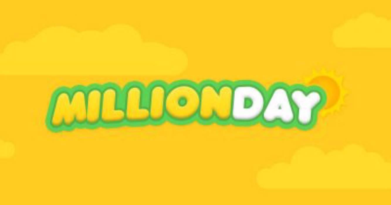 Million day, la diretta dell'estrazione di domenica 19 maggio