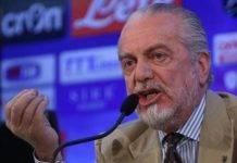 AURELIO DE LAURENTIIS CALCIO ITALIANO DROGA STEWARD