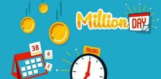 Million day, la diretta dell'estrazione di mercoledì 17 luglio