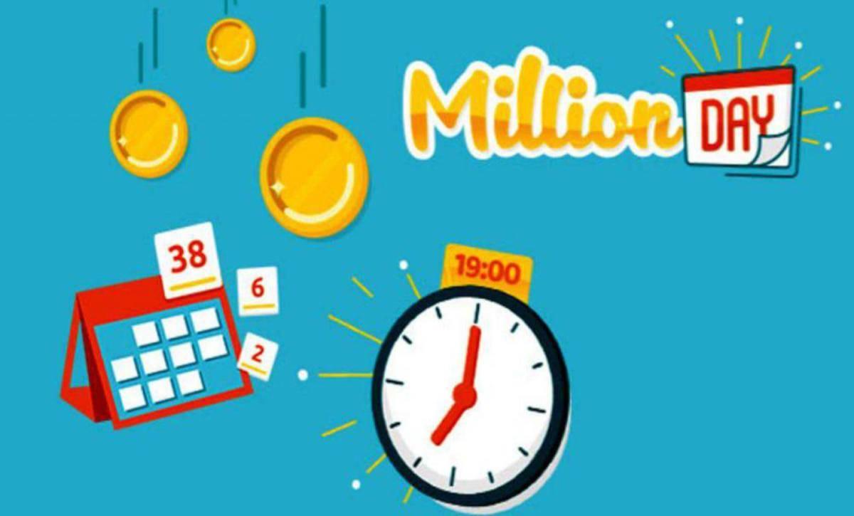 Million day, la diretta dell'estrazione di venerdì 16 agosto