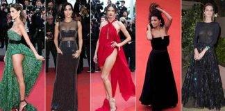 Festival di Cannes 2019: tutte le star sul red carpet con gli abiti trasparenti