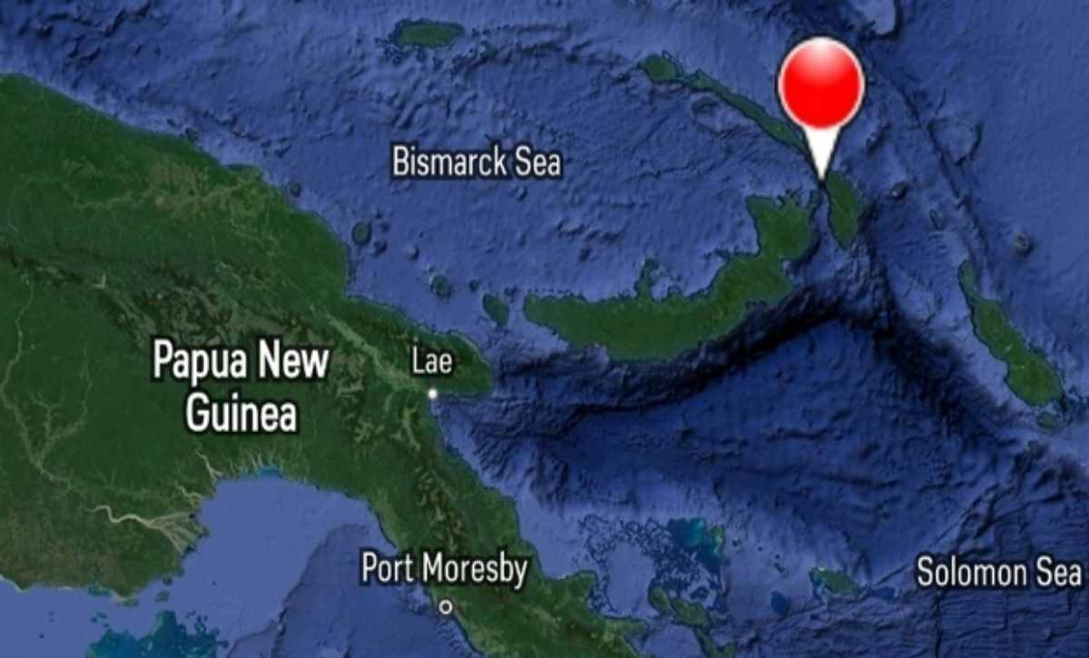 terremoto papua nuova guinea tsunami