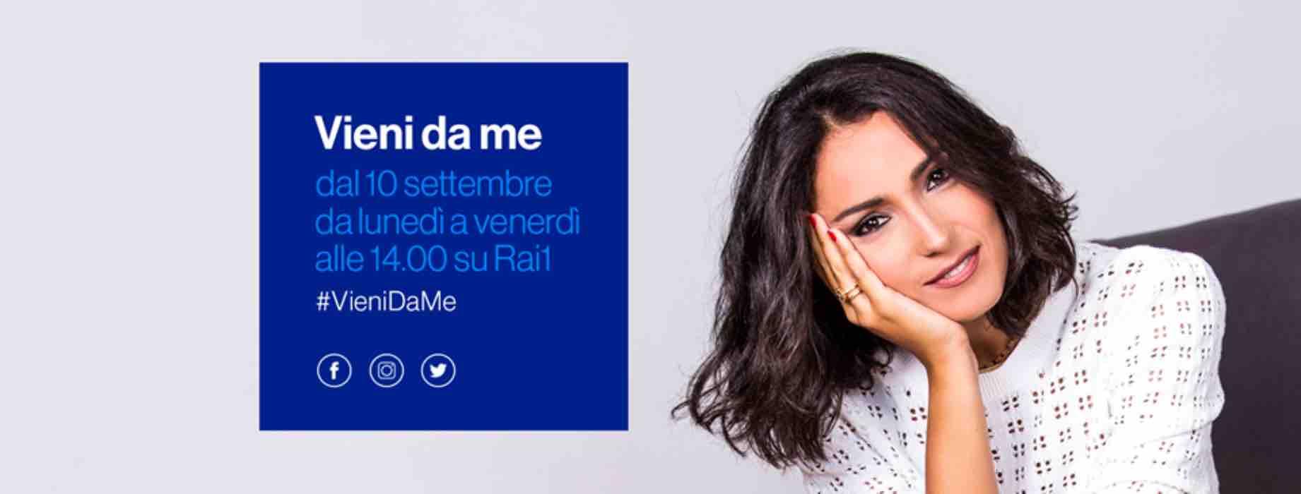 'Vieni da me': ospite Cristiana Ciacci, la figlia di Little Tony