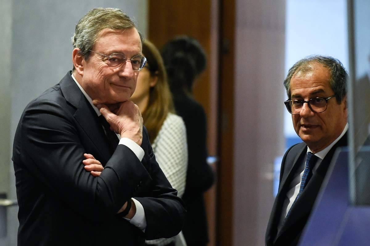 Draghi Tria inflazione