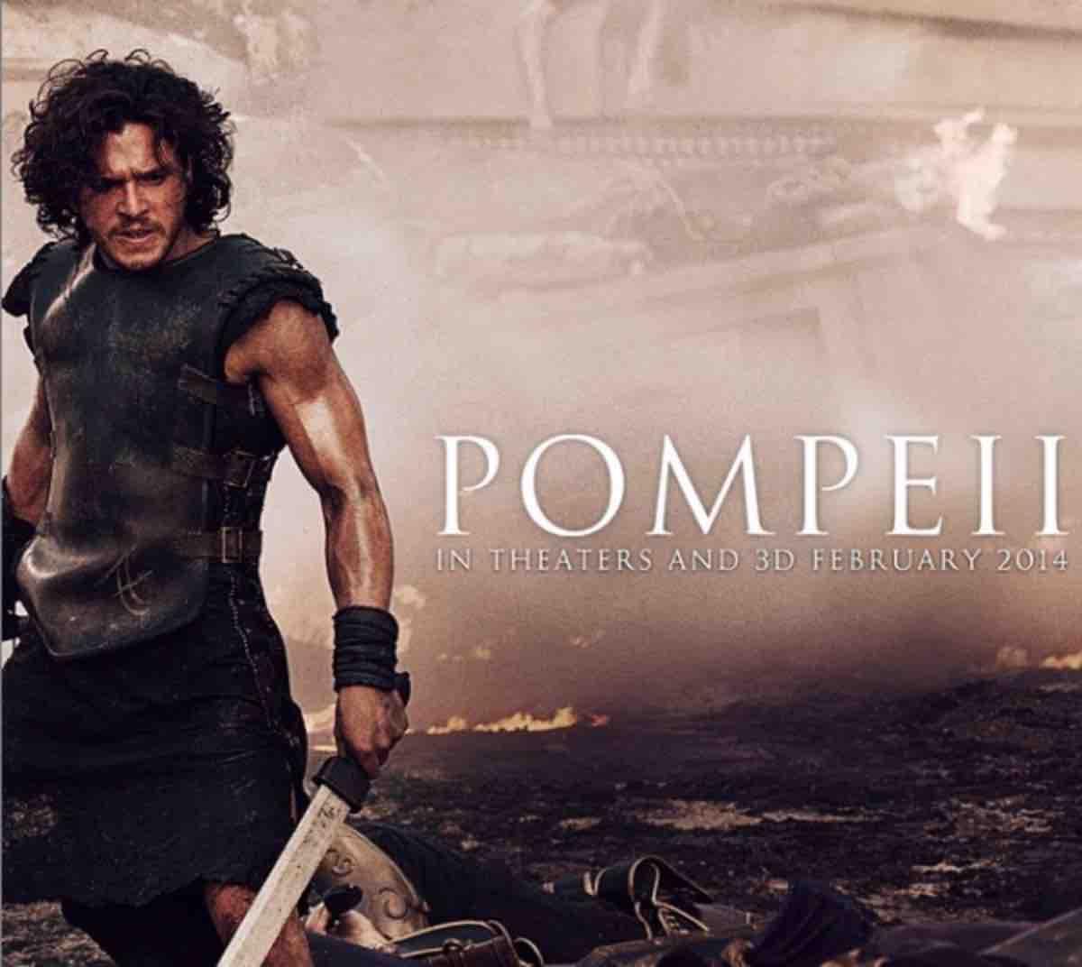 Pompei: trama   cast   trailer   curiosità del film con Kit Harington