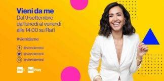 'Vieni da me', Anna Safroncik è l'ospite odierno di Caterina Balivo