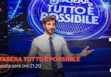 Rai 2, Stasera tutto è possibile | conduce Stefano De Martino | ospiti