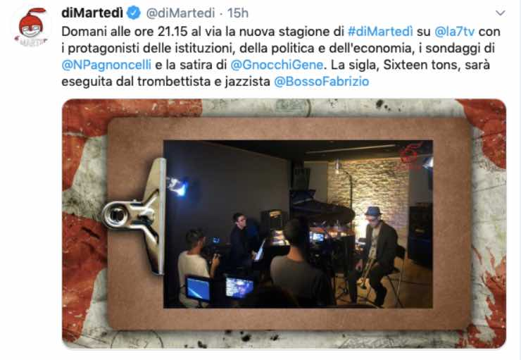 Dimartedì (Facebook, @dimartedi)