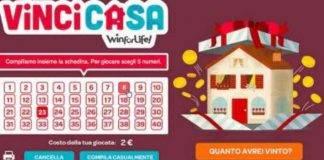 VinciCasa, estrazione di oggi 11 settembre: verificate i numeri vincenti