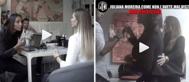 Iene: lo scherzo a Juliana Moreira