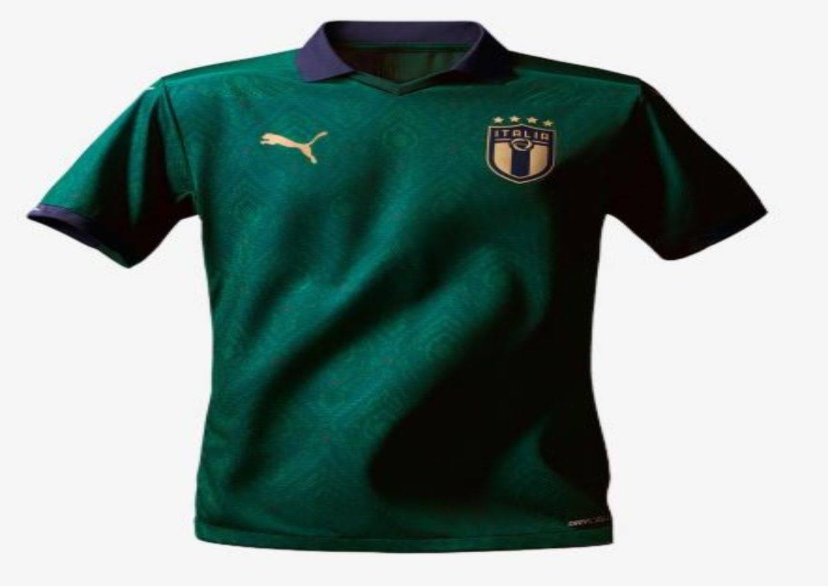 Italia, maglia verde