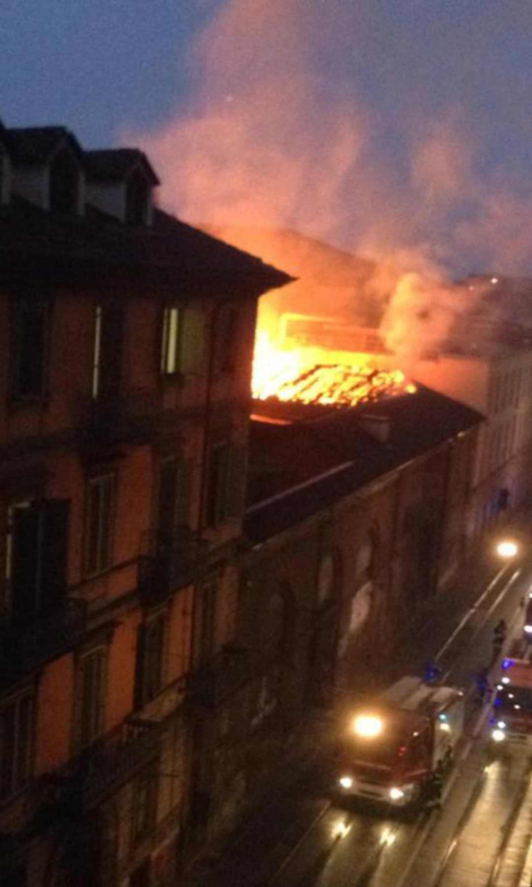 Incendio Cavallerizza Reale