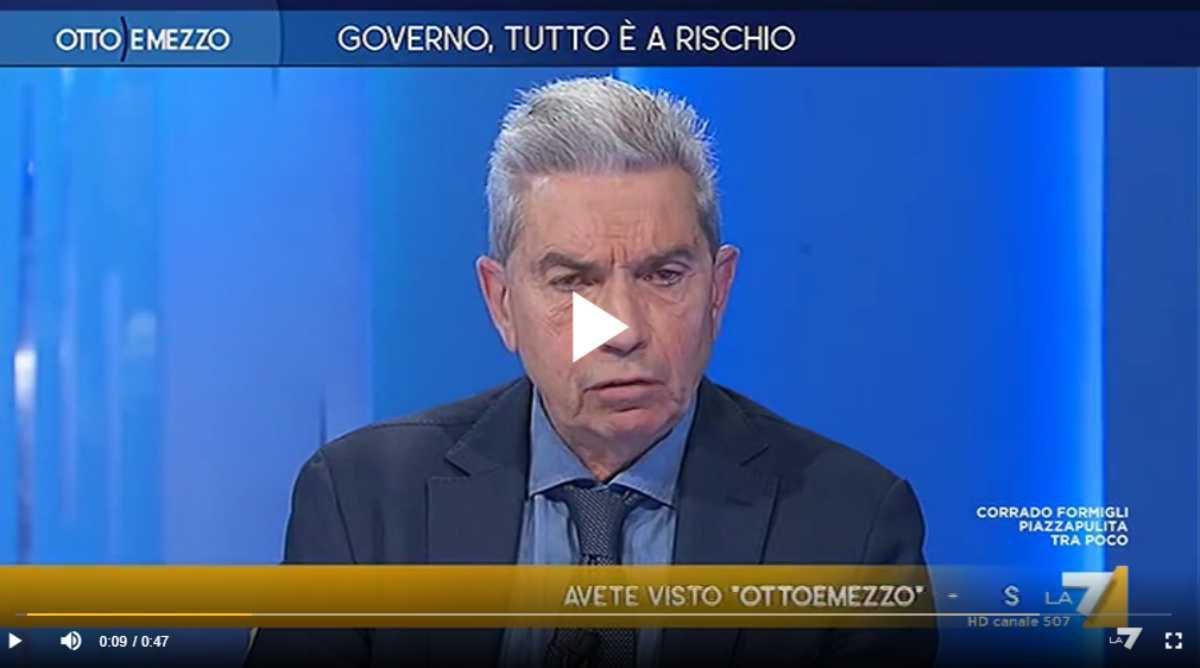 """Padellaro: """"Salvini ha mancato di rispetto a Liliana Segre"""" - VIDEO"""