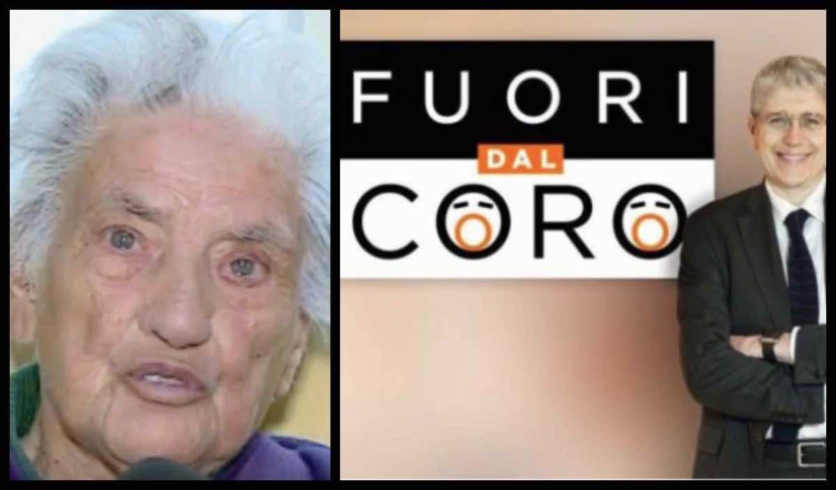 Fuori dal coro, Rete 4: stasera Mario Giordano e il caso di Nonna Albertina