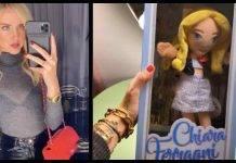 Chiara Ferragni su Instagram: la bambola è il miglior regalo per Natale