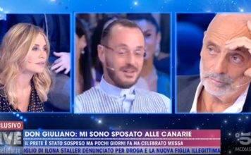 Don Giuliano prete gay Non è la d'urso