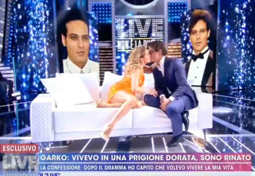 Gabriel Garko Bacia Barbara D'urso