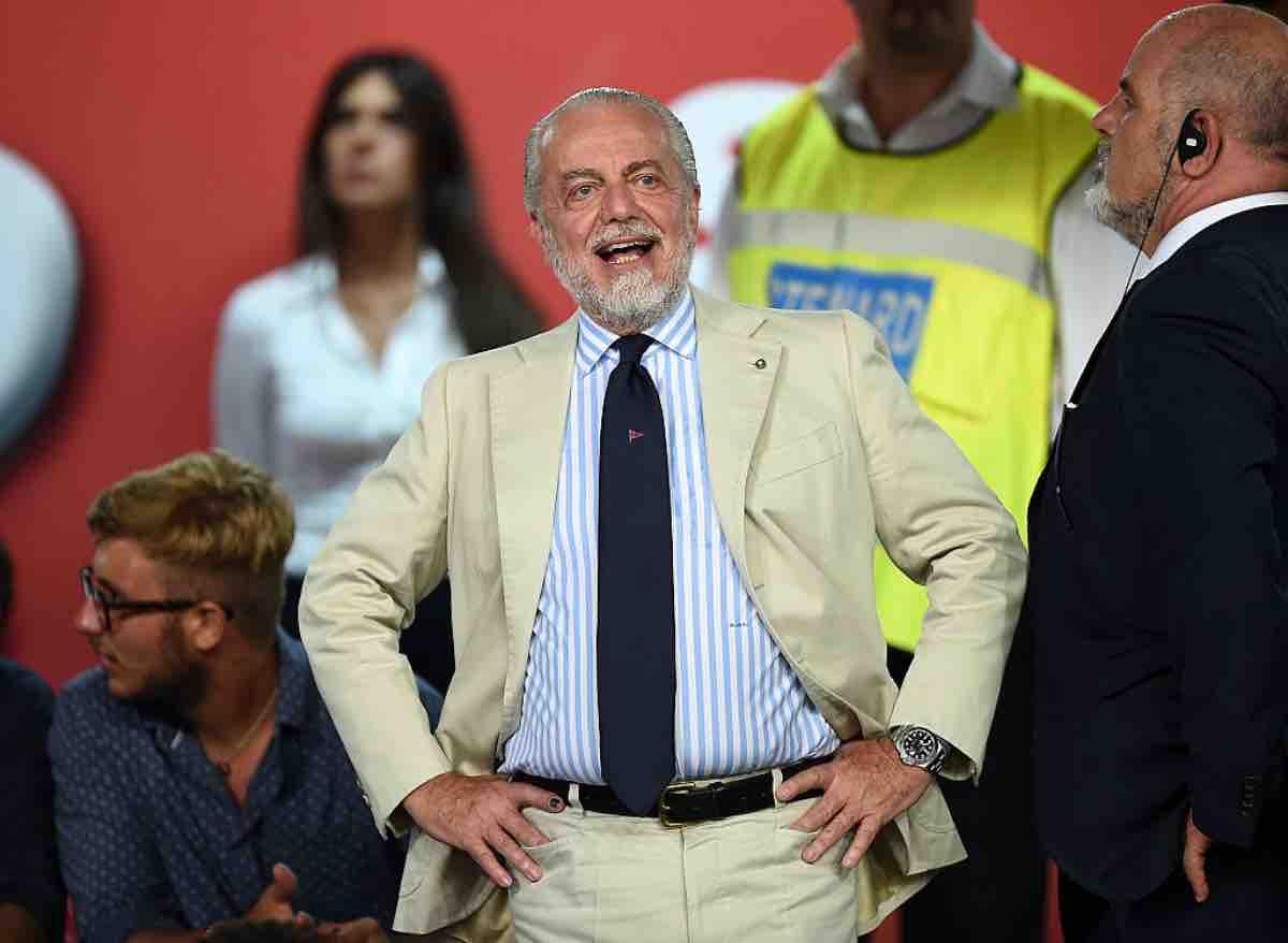 "Napoli, Aurelio De Laurentiis sul mercato di gennaio: ""siamo a posto..."""