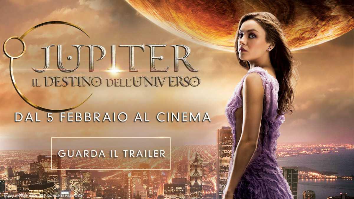 """Mila Kunis in """"Jupiter-il destino dell'universo"""", stasera in prima serata su Italia"""