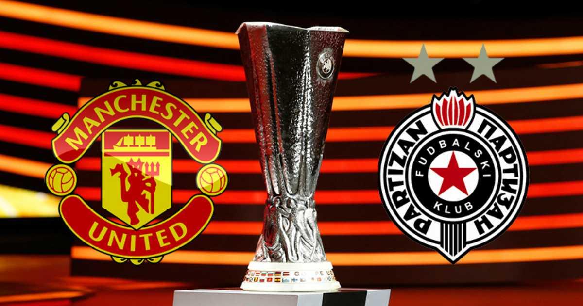 Europa League, stasera Manchester United-Partizan Belgrado